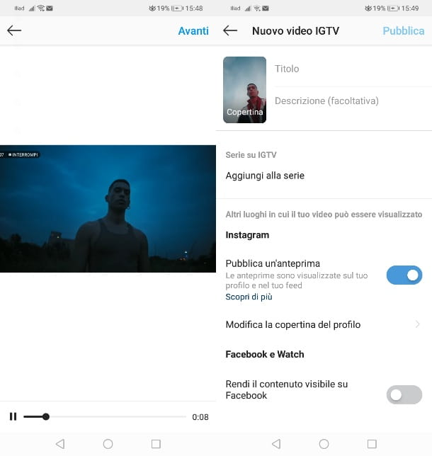 Comparte videos de YouTube en IGTV