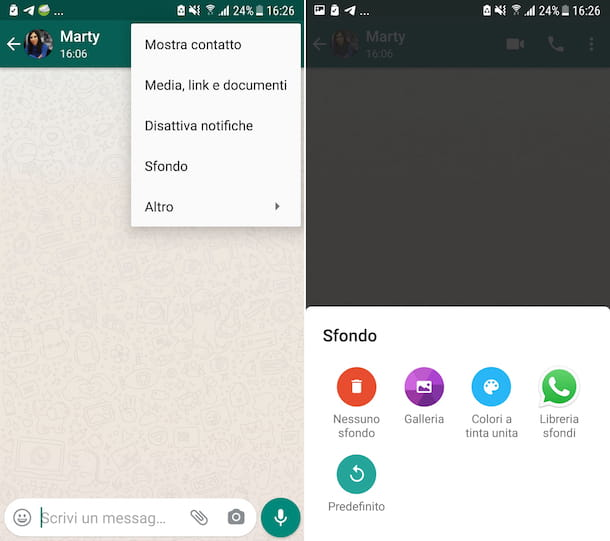 Fondos de WhatsApp de Android